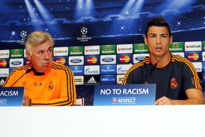 Ancelotti, Ronaldo, Real Madrid