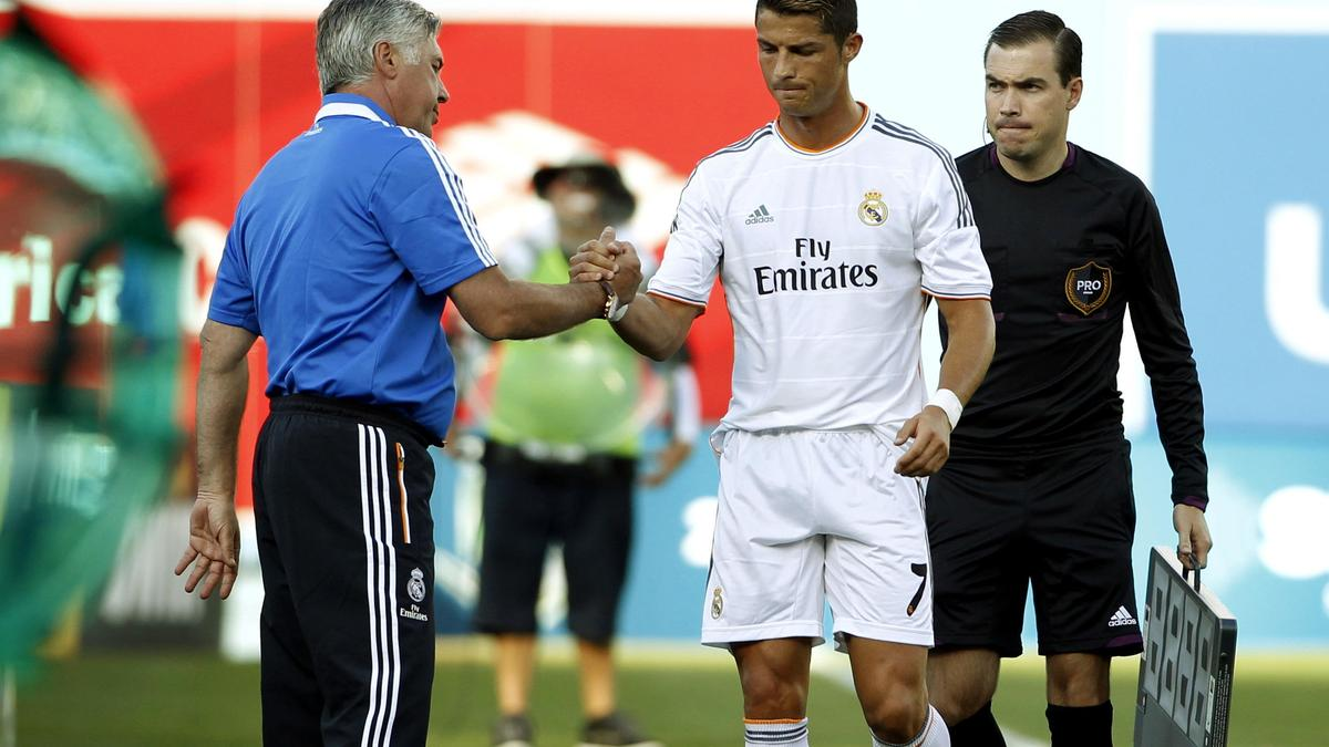 Ancelotti : «C.Ronaldo mérite le Ballon d'Or, plus que Messi et Ribéry»