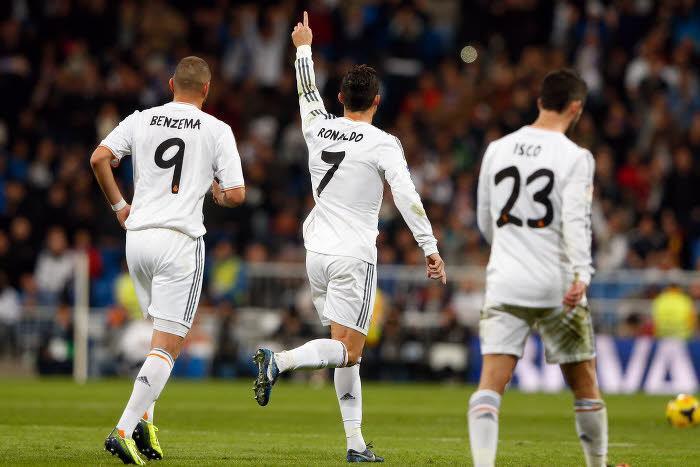 Real Madrid : Le hat-trick de Cristiano Ronaldo (vidéo)