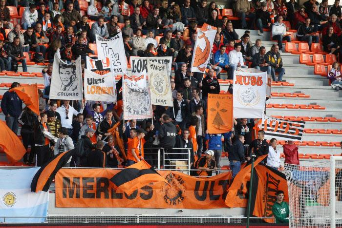 Supporters Lorient