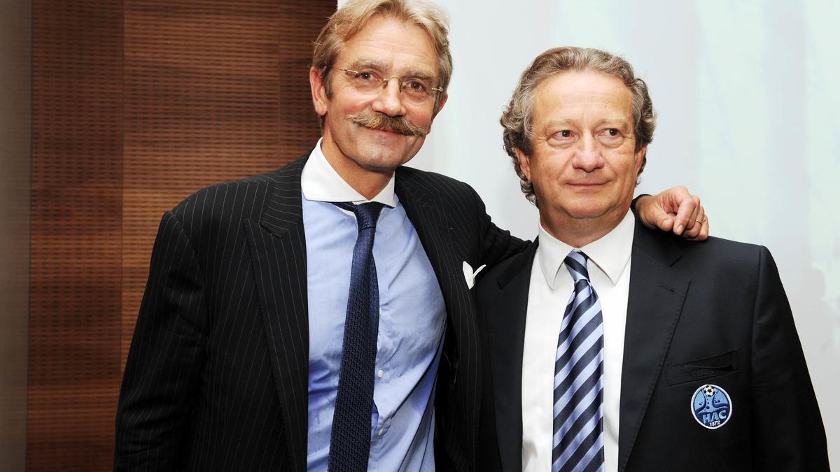 Frédéric Thiriez & Jean-Pierre Louvel