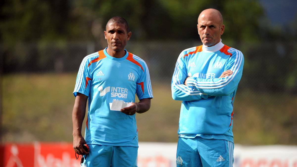 Franck Passi & Elie Baup, OM