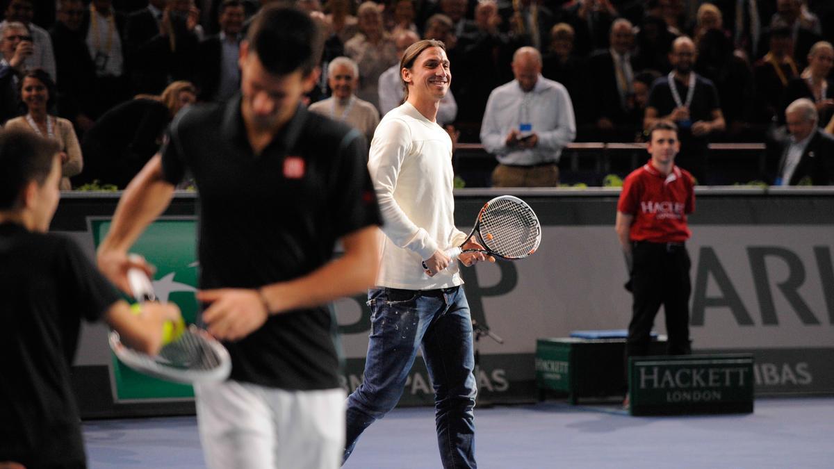 Novak Djokovic & Zlatan Ibrahimovic