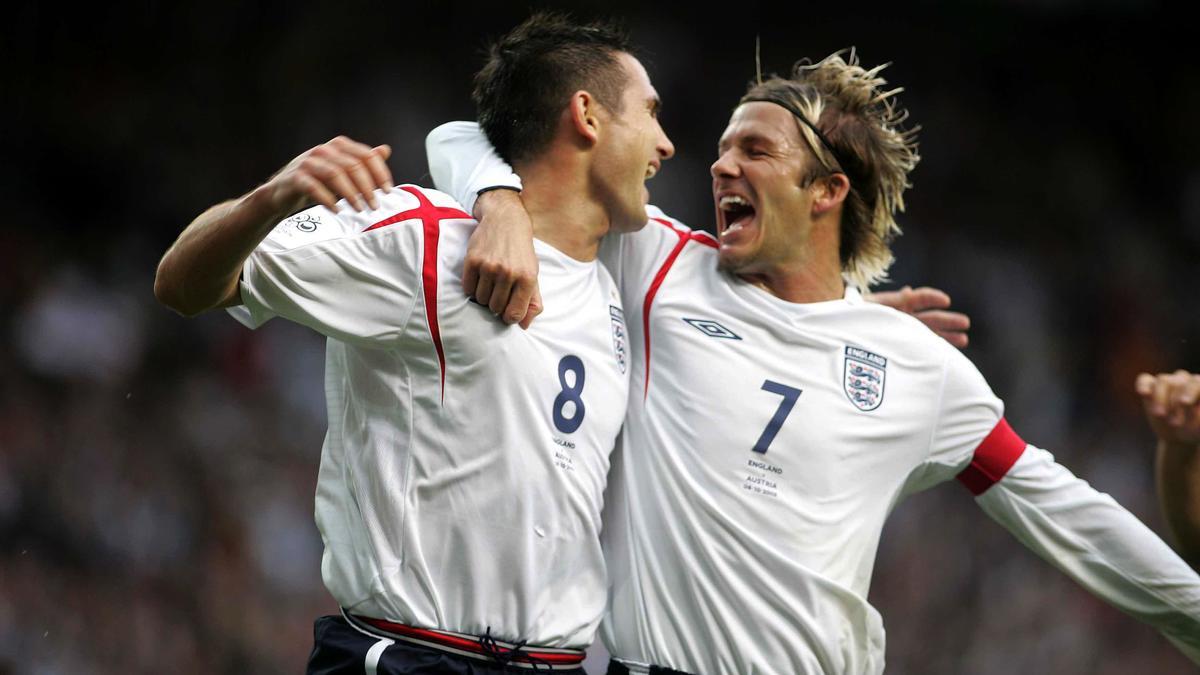 Franck Lampard & David Beckham