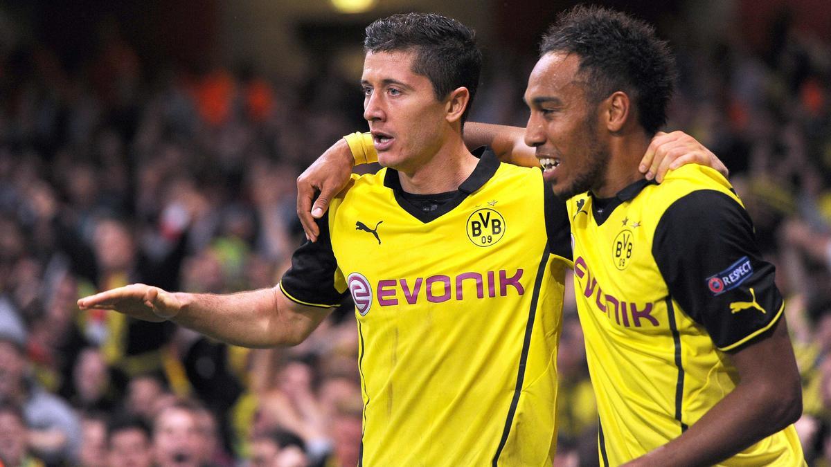 Robert Lewandowski & Pierre-Emerick Aubameyang, Borussia Dortmund