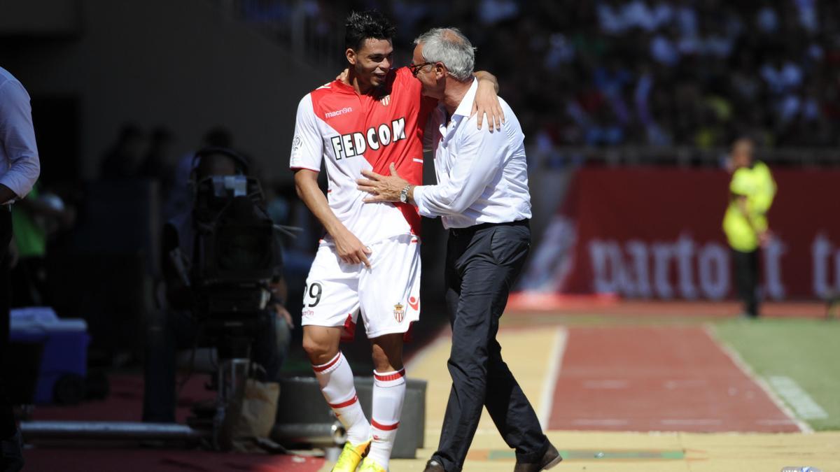 Emmanuel Rivière & Claudio Ranieri, AS Monaco
