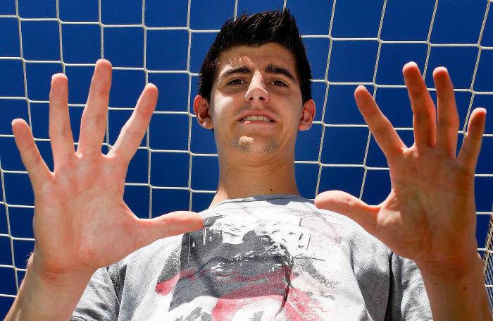 Courtois, Atletico Madrid