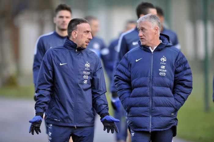 Franck Ribéry & Didier Deschamps
