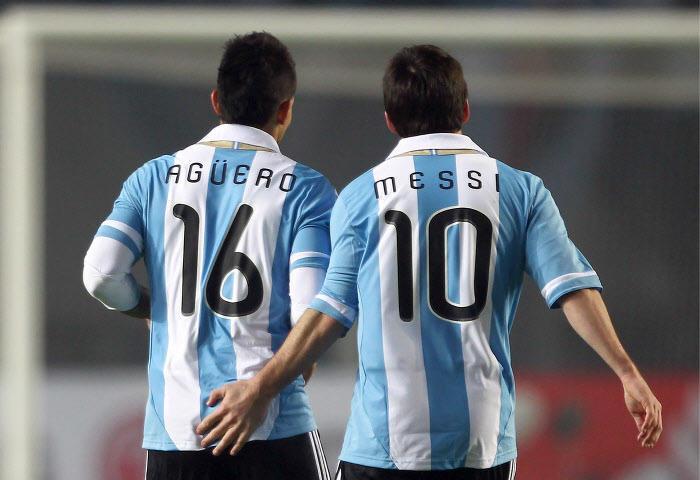 Messi, Aguero, Argentine