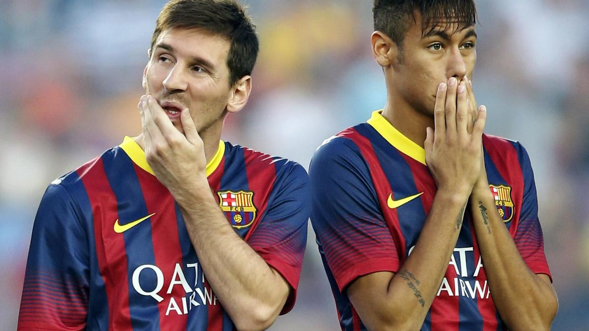Lionel Messi & Neymar, Barcelone