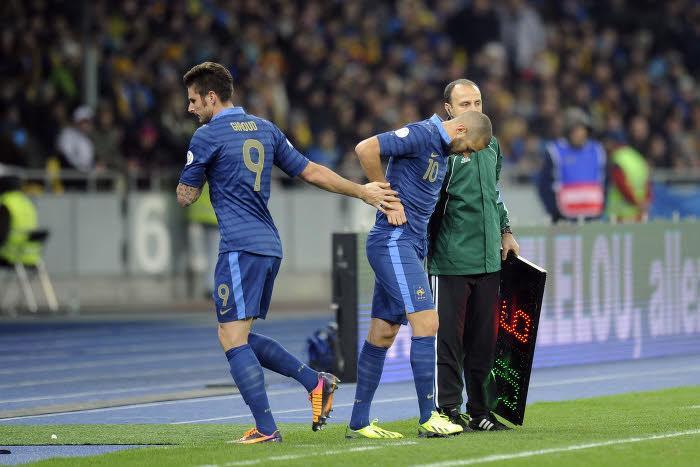 Olivier Giroud & Karim Benzema