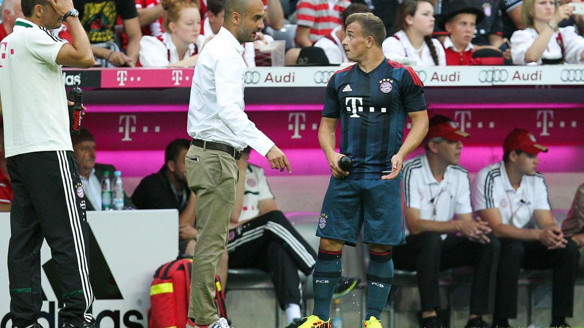 Pep Guardiola & Xherdan Shaqiri, Bayern Munich
