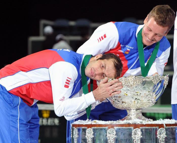 Radek Stepanek & Tomas Berdych