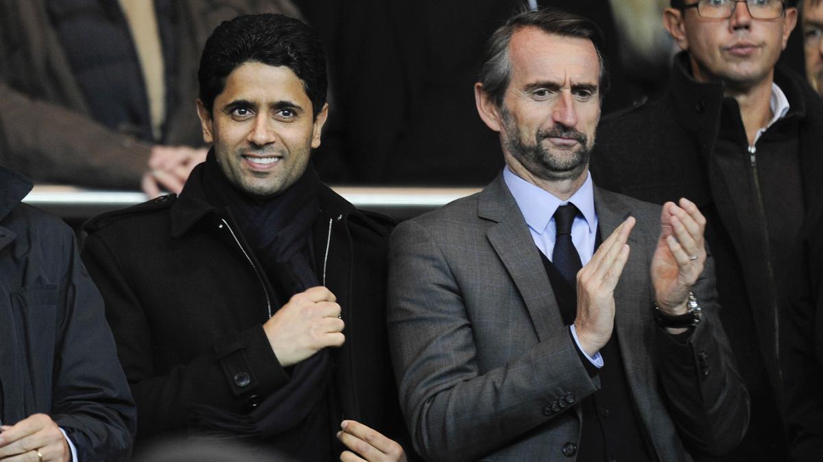 Nasser Al-Khelaifi & Jean-Claude Blanc, PSG