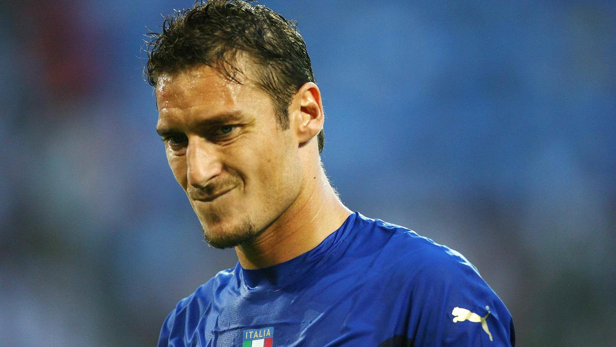 Francesco Totti, Italie