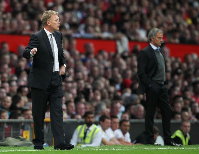David Moyes et José Mourinho