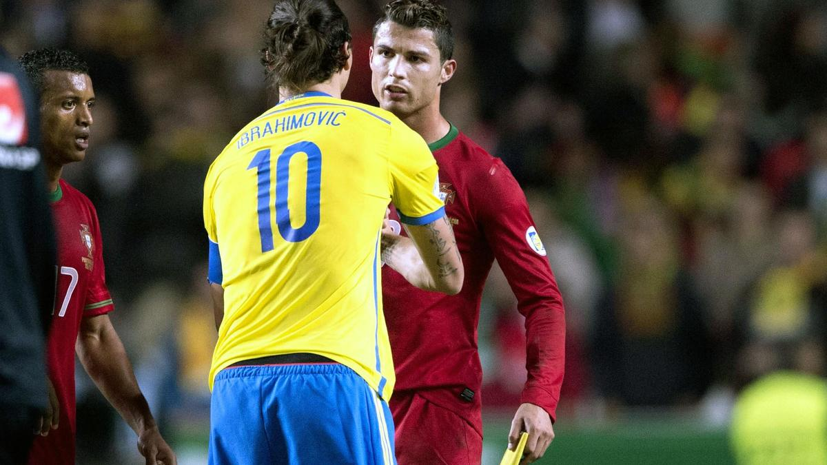 Ibrahimovic - Ronaldo