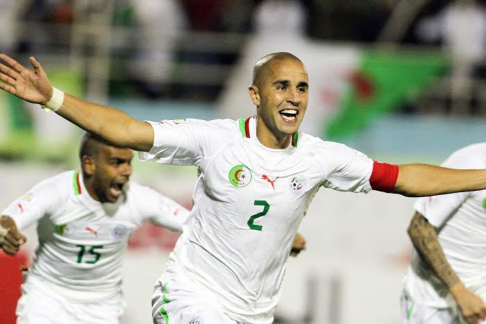 Madjid Bougherra, Algérie