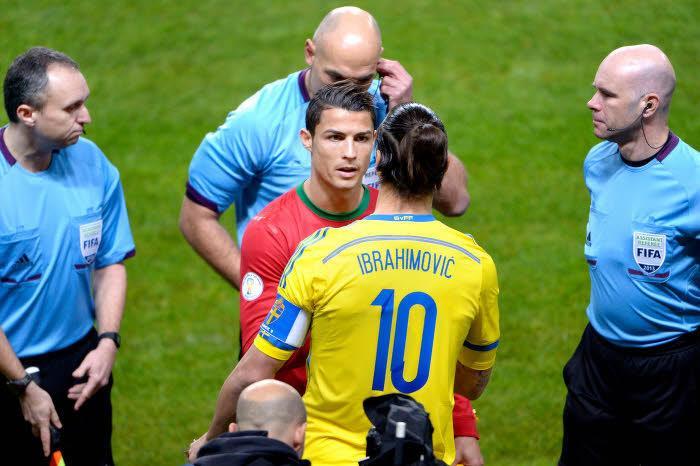 Coupe du monde : Zlatan Ibrahimovic applaudit Cristiano Ronaldo (vidéo)
