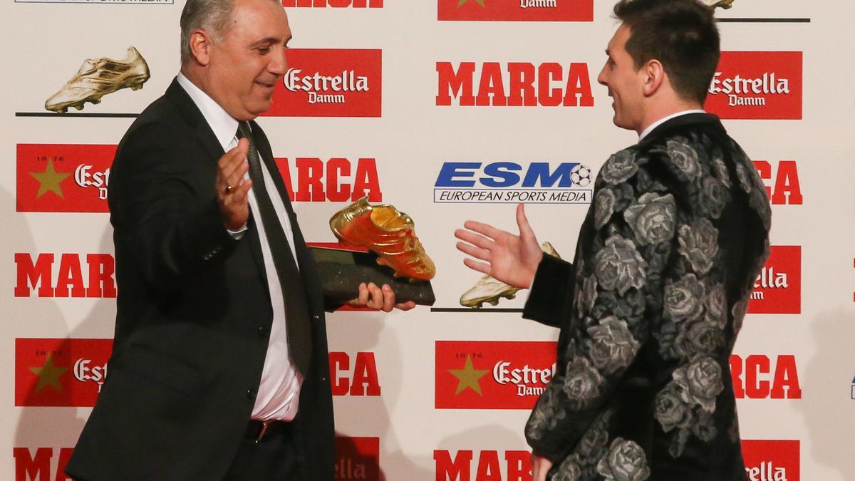 Hristo Stoichkov & Lionel Messi