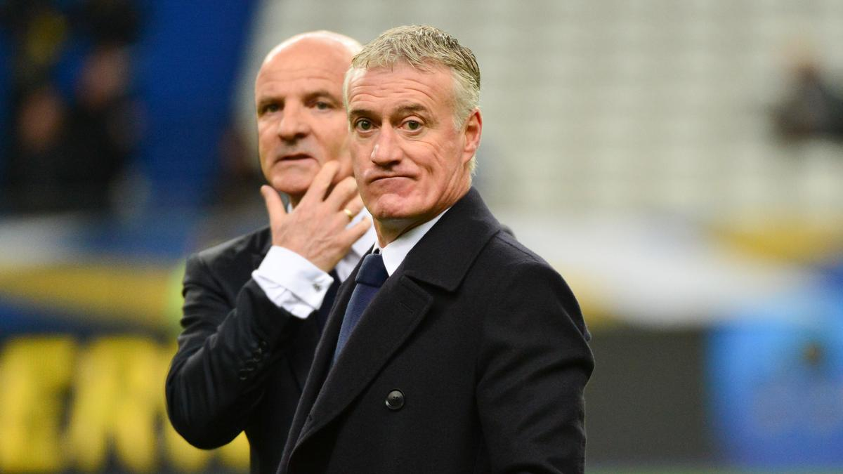 Guy Stephan & Didier Deschamps, équipe de France