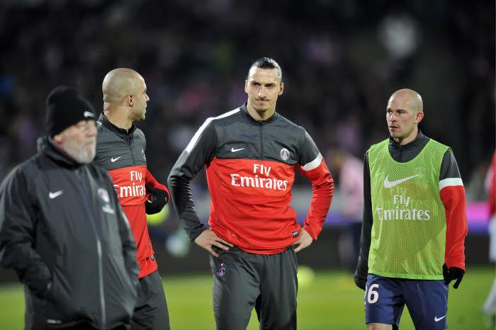 Zlatan Ibrahimovic, Christophe Jallet, PSG