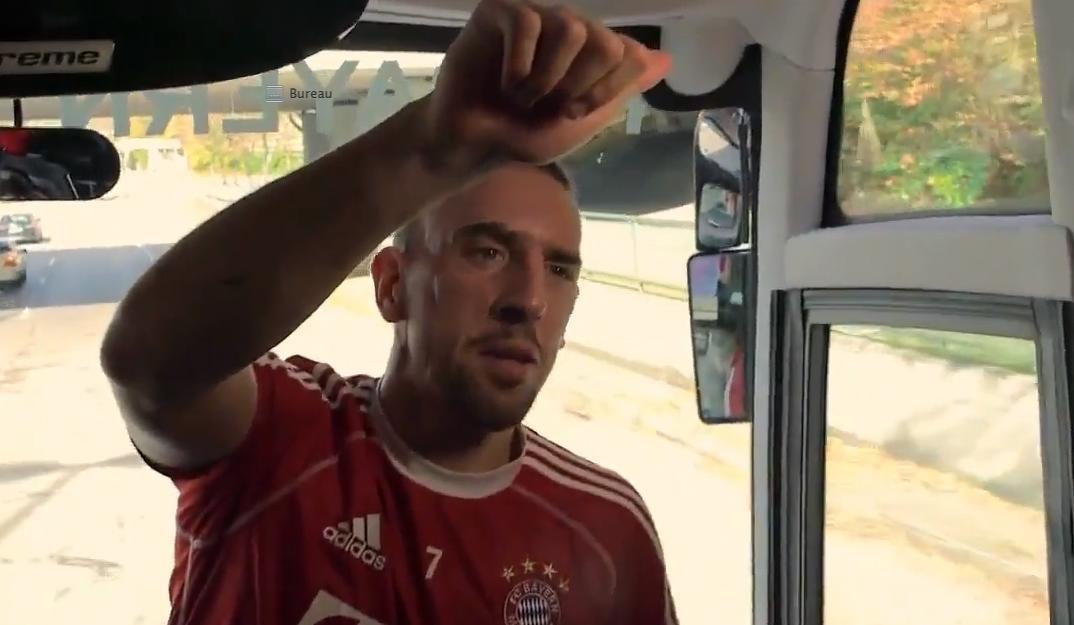 Bayern Munich : Ribery et Neuer font le show avant le choc contre le Borussia Dortmund (vidéo)