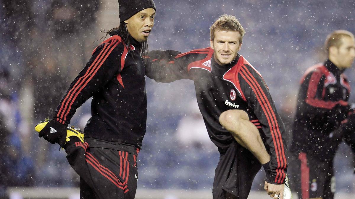 PSG : «Ronaldinho est plus en forme que Beckham à l