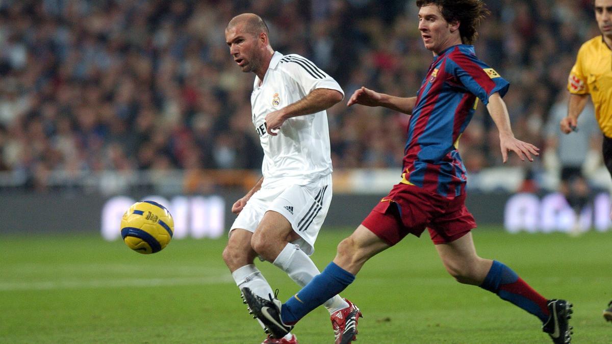 Zinedine Zidane - Lionel Messi