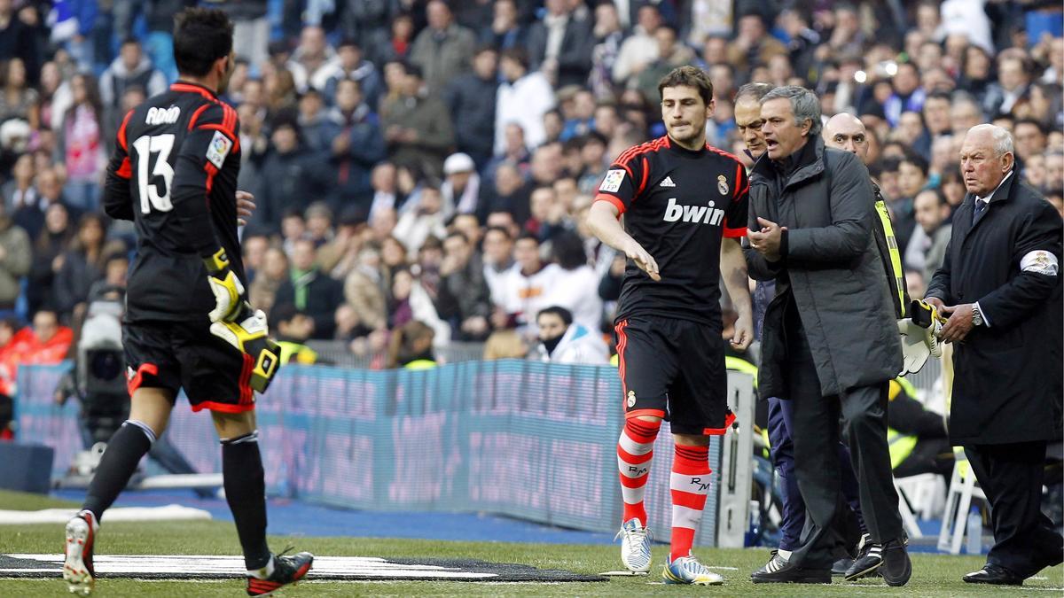 Iker Casillas - José Mourinho