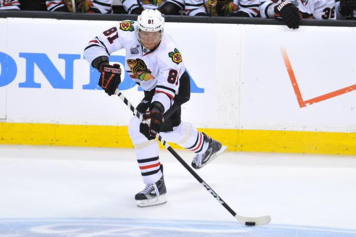 Marian Hossa, Chicago Blackhawks