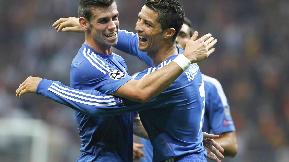 Gareth Bale et Cristiano Ronaldo, Real Madrid