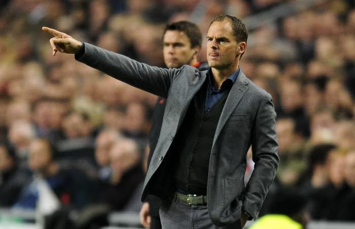 Frank De Boer, entraîneur Ajax Amsterdam