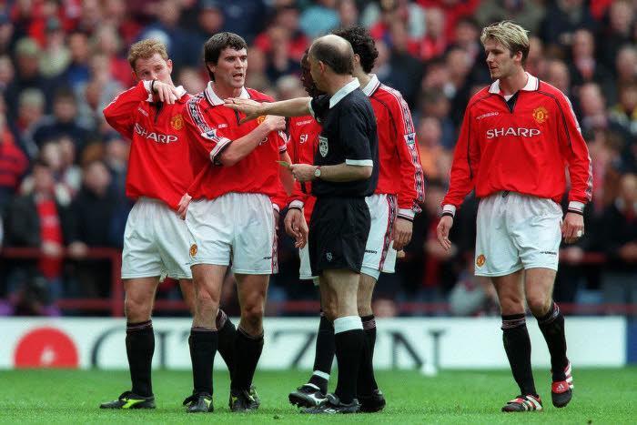 David Beckham, en 1999