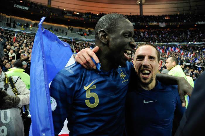 Mamadou Sakho & Franck Ribéry