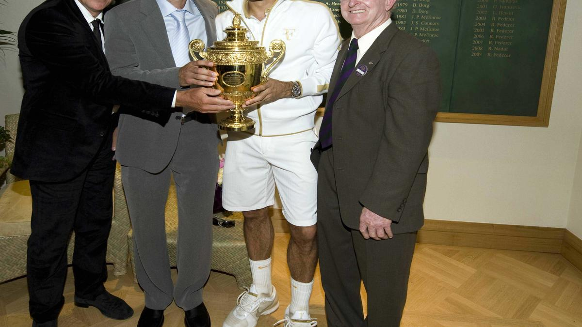 Pete Sampras & Roger Federer