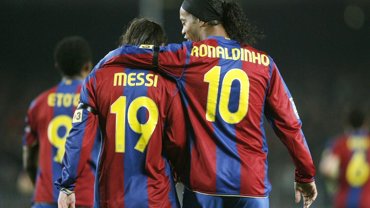 Lionel Messi & Ronaldinho
