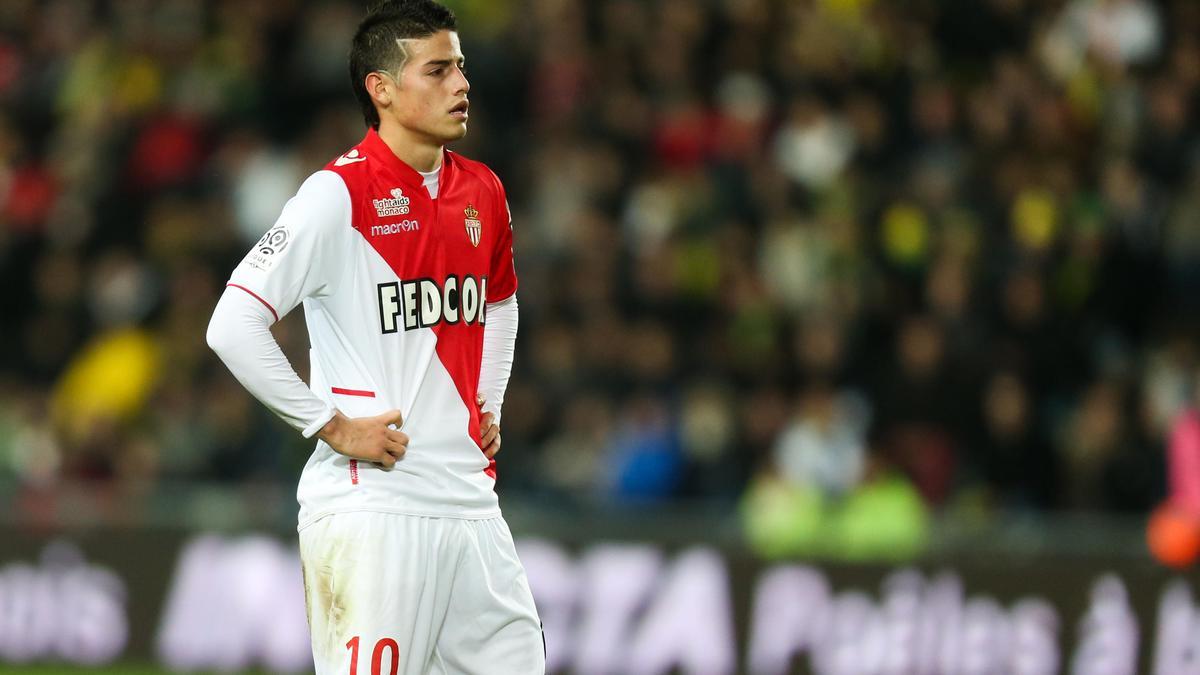 James Rodrguez, AS Monaco
