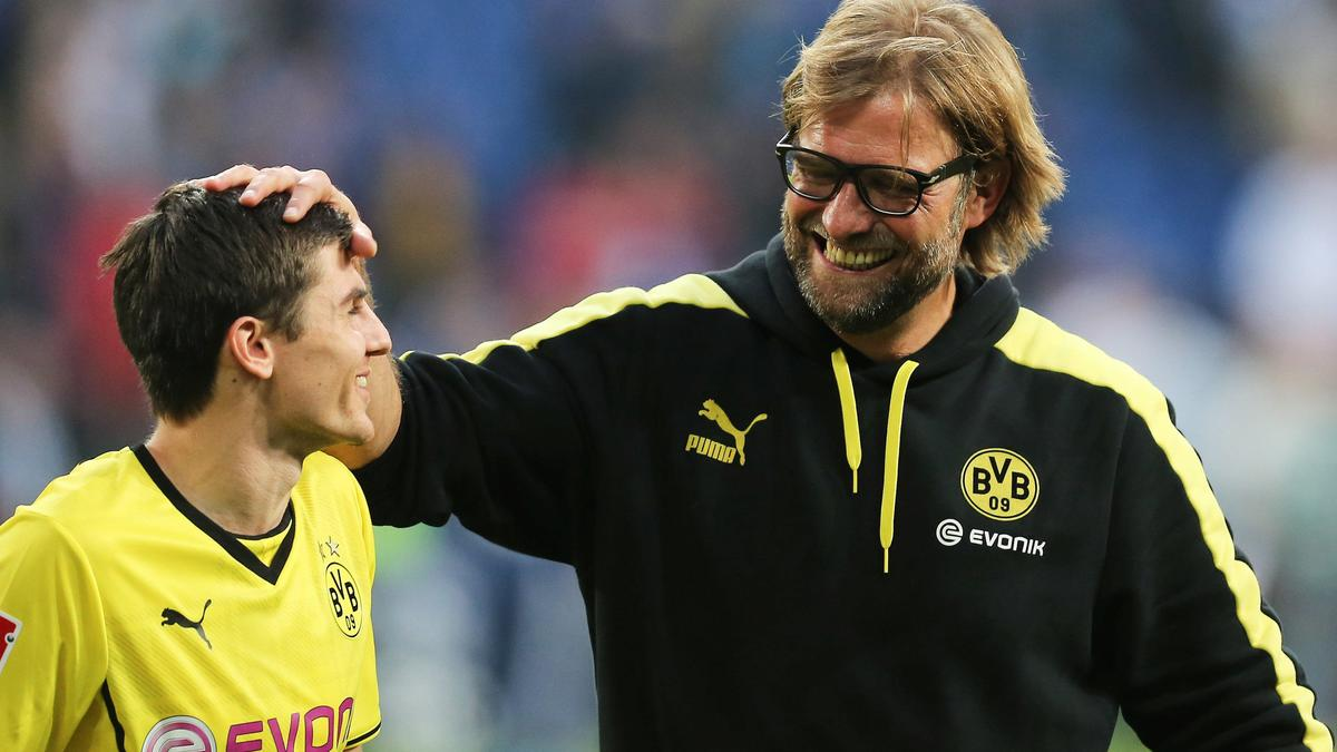 Jonas Hofmann & Jurgen Klopp, Borussia Dortmund