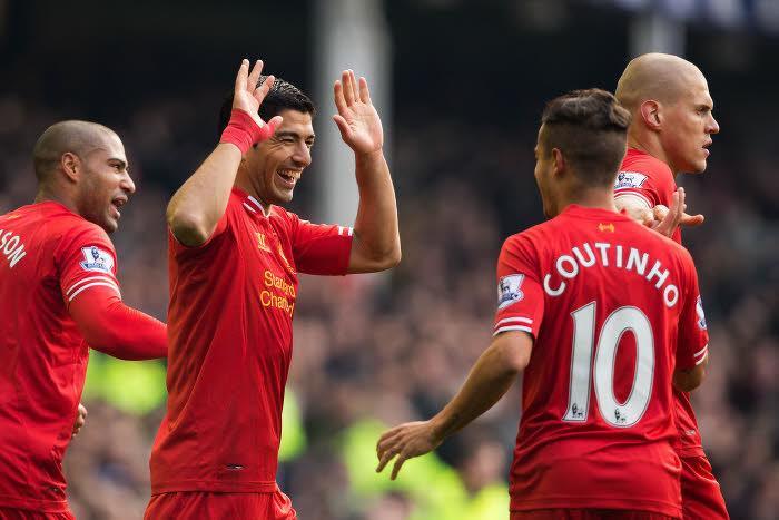 Luis Suarez, Coutinho, Liverpool