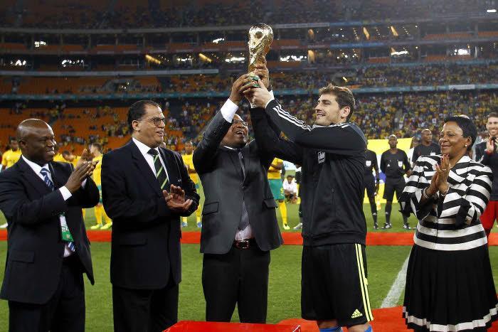 Casillas : «C'est peut-être ma dernière Coupe du monde»