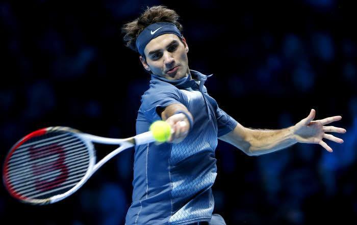 Roger Federer, au Masters de Londres