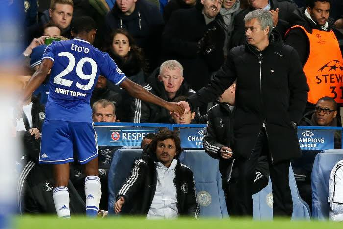 Samuel Eto'o & José Mourinho