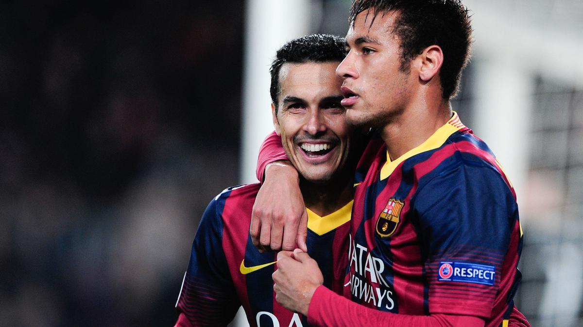 Pedro & Neymar, Barcelone