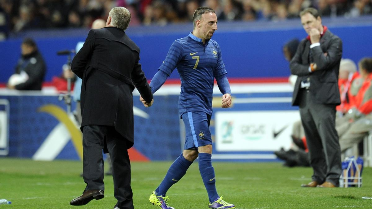 Deschamps - Ribéry