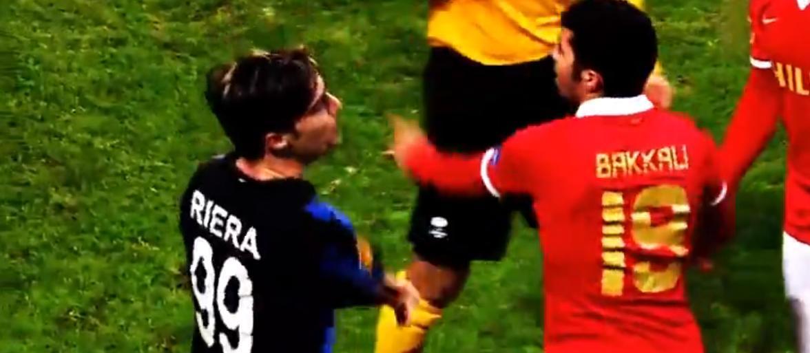 Europa League : Il devient fou et crache sur son adversaire ! (vidéo)