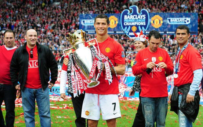 Cristiano Ronaldo, en 2008