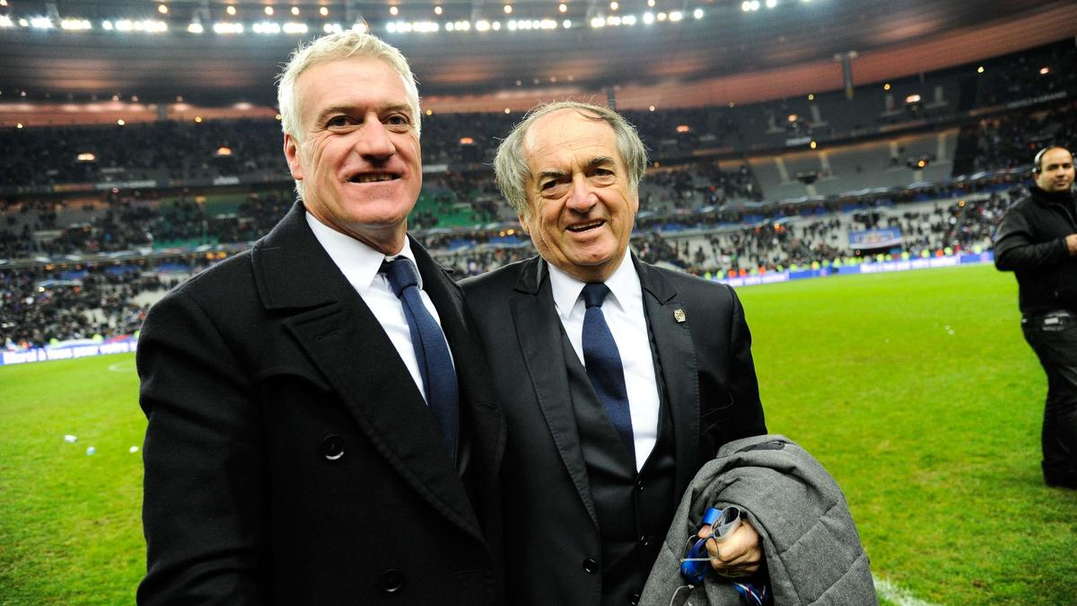Didier Deschamps & Noël Le Graët, équipe de France