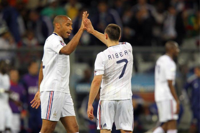 Thierry Henry, Franck Ribéry