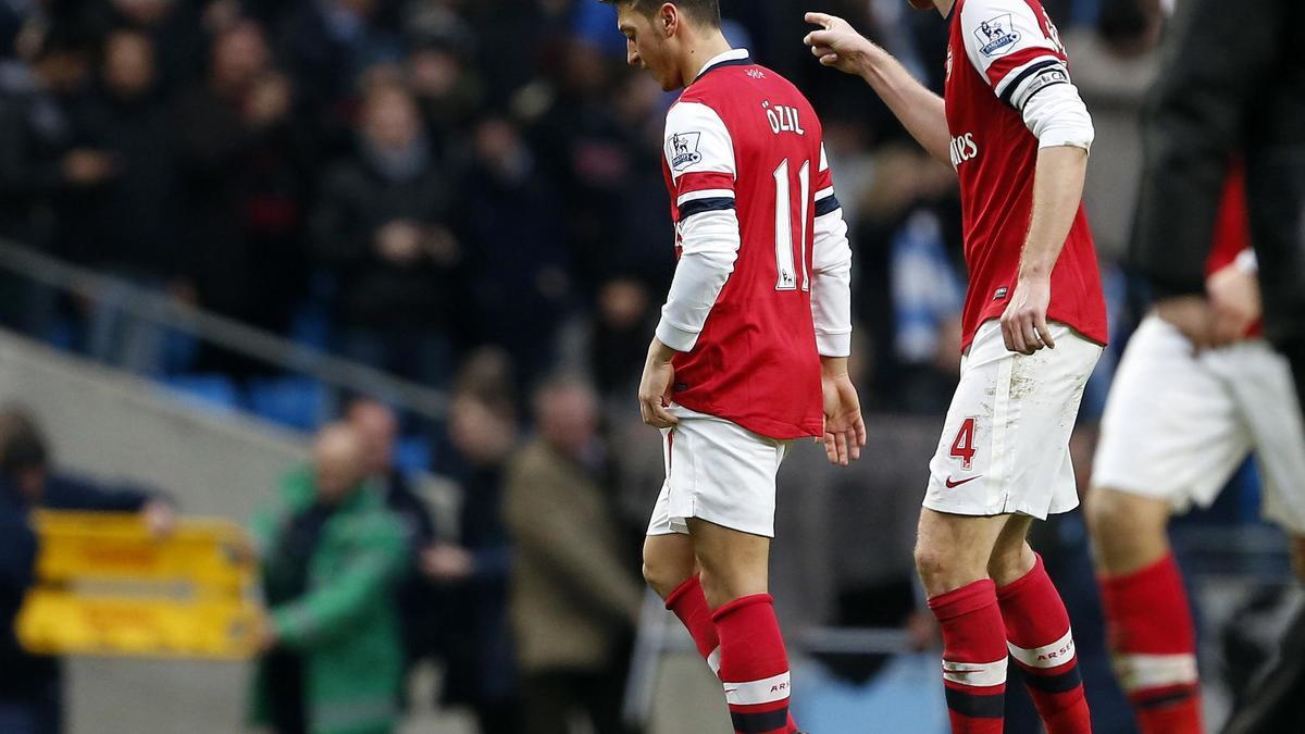 Mesut Özil & Per Mertesacker, Arsenal